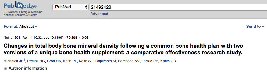 Pubmed 6 Month Study