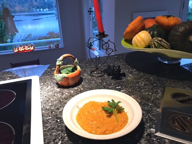 Butternut Squash, Carrot & Apple Soup Recipe