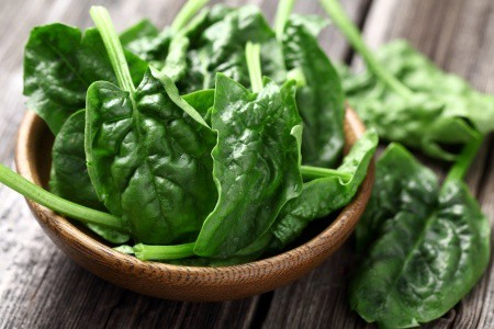 Potassium Rich Foods - Spinach