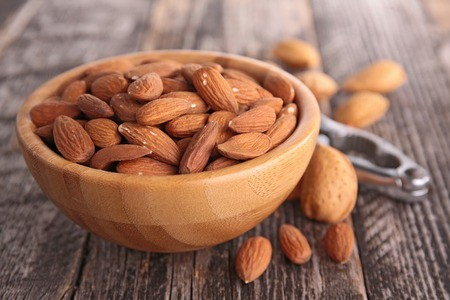 non dairy sources of calcium -almonds