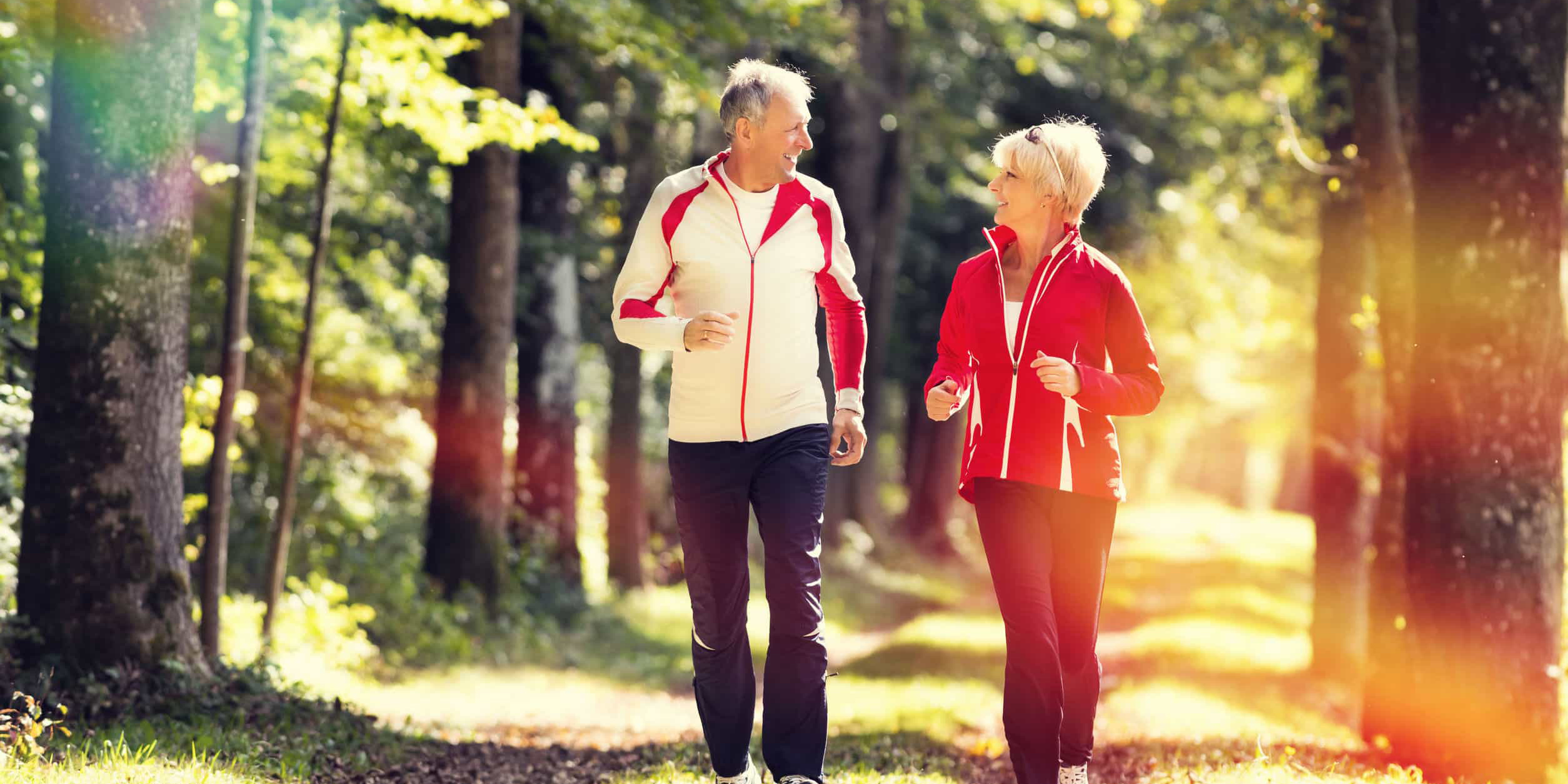 Active couple jogging - Benefits of Boron