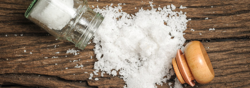 Sodium Salt on Table