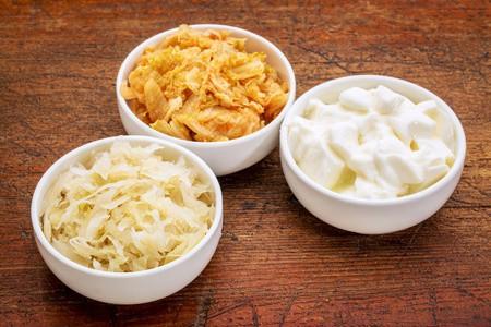 Kimchi, Sauerkraut, Kefir - Gut Health and Tequila Agave