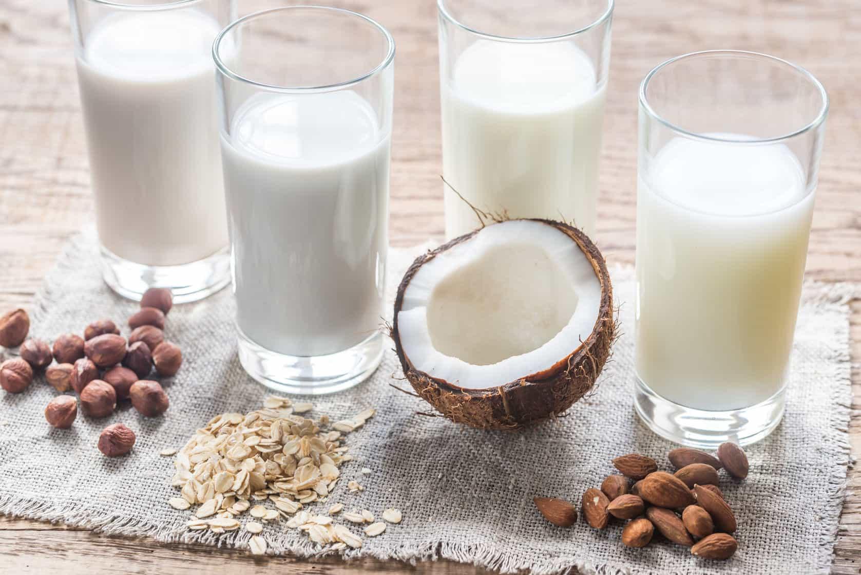 vitamin D benefits - vitamin D rich foods - non dairy milk