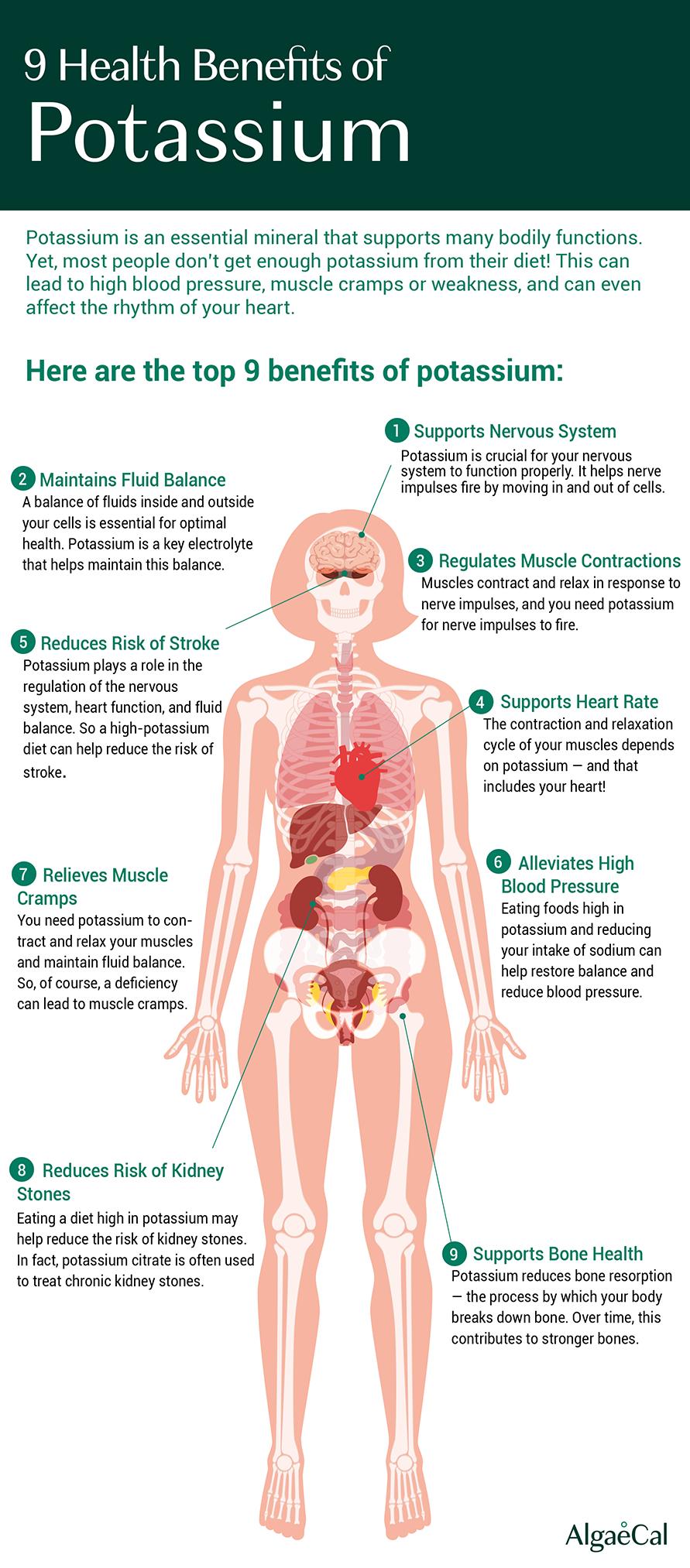 9 Health Benefits of Potassium