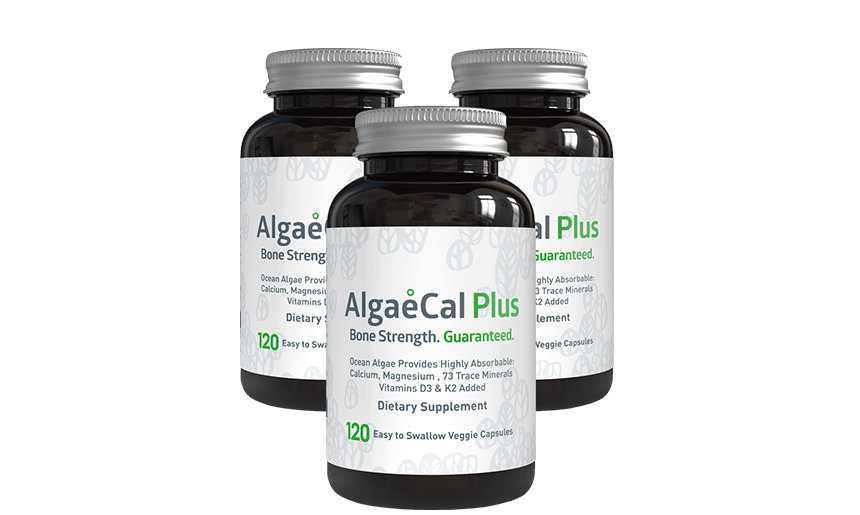 4 bottles of AlgaeCal Plus