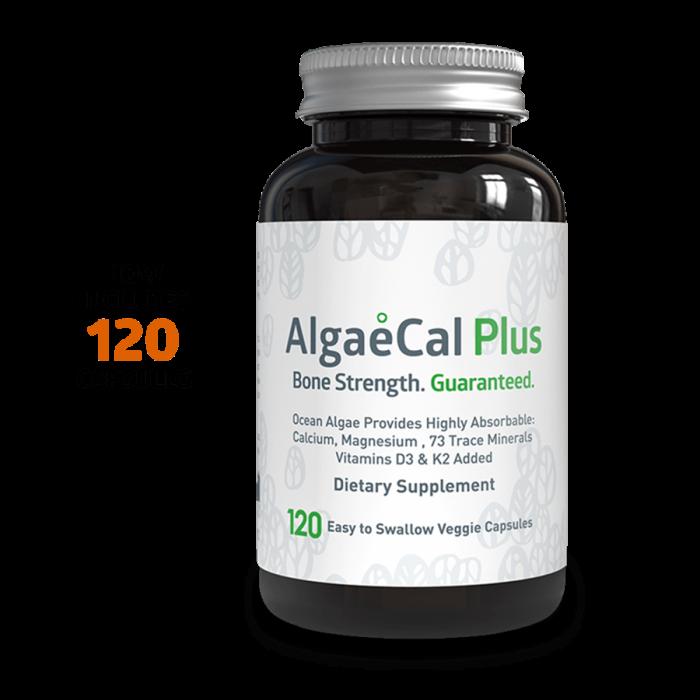 Algaecal Plus Single Bottle 120 Capsule Count