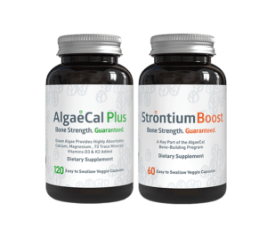 1 Month<br> Bone Builder Pack - 1 AlgaeCal Plus<br />1 Strontium Boost