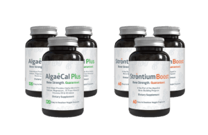 3 Month<br> Bone Builder Pack - 3 AlgaeCal Plus <br />3 Strontium Boost