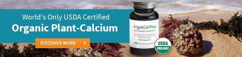 Algaecal Plus USDA Organic Plant Calcium