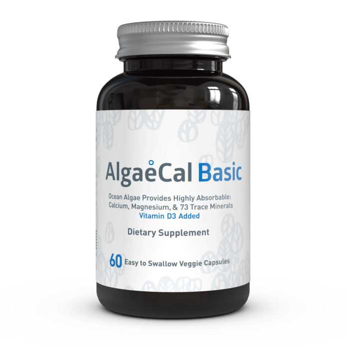 AlgaeCal Basic Single Bottle