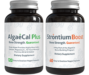 AlgaeCal Plus and Strontium Boost
