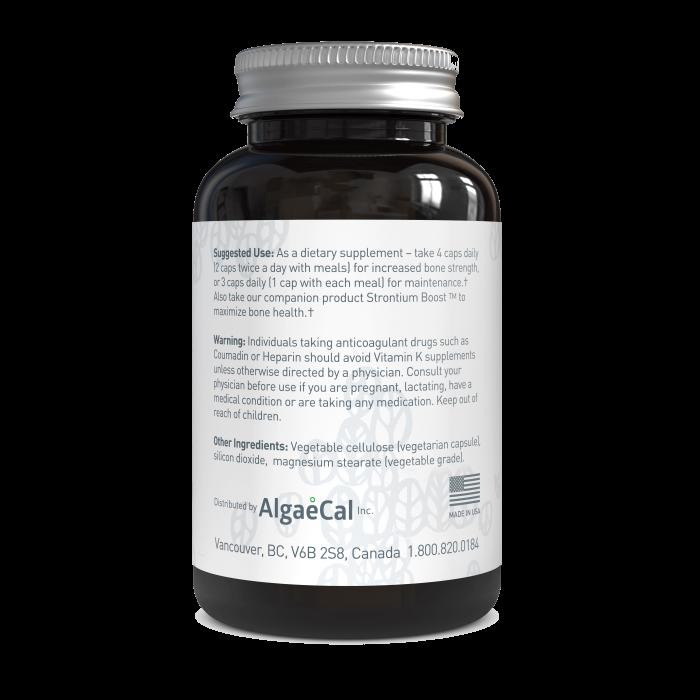 AlgaeCal Plus Suggested Use