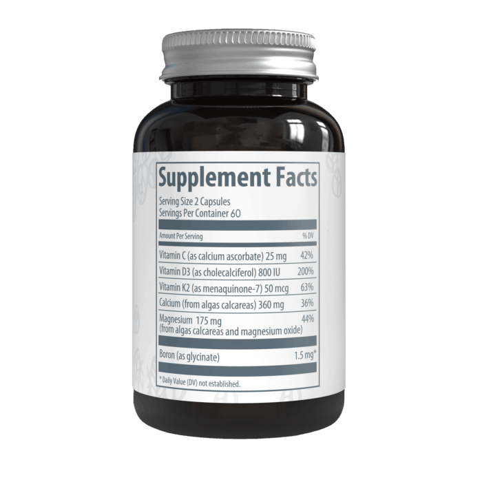 AlgaeCal Plus Supplement Facts