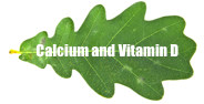 Organic calcium and vitamin d
