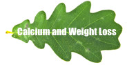 Organic calcium helps weight loss