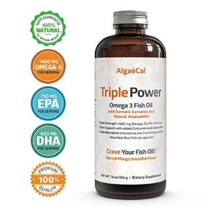 Algaecal Triple Power Omega 3 Fish Oil