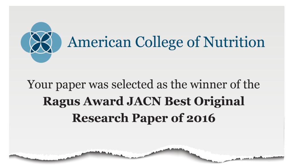 Ragus Award