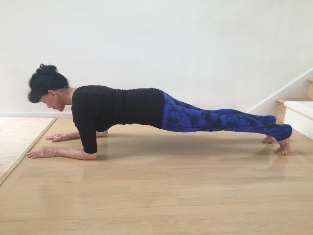 Bent Arm Plank Pose