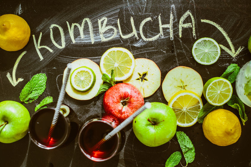 How to brew kombucha recipe