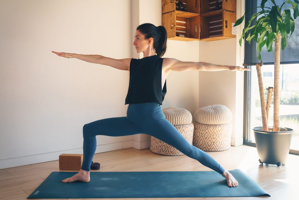 Virabhadrasana II (Warrior II) — Prevention