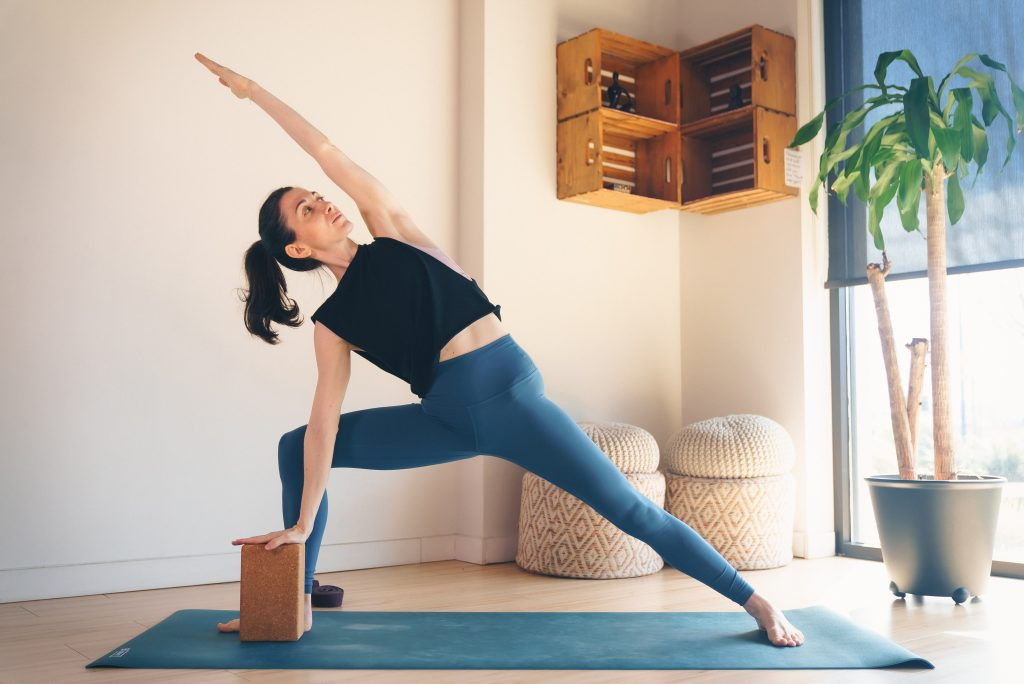 Parsvakonasana (Side angle pose) — Prevention