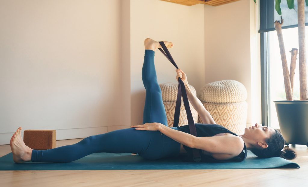 Supta Padangusthasana II (Supine hand-to-foot II) — Prevention
