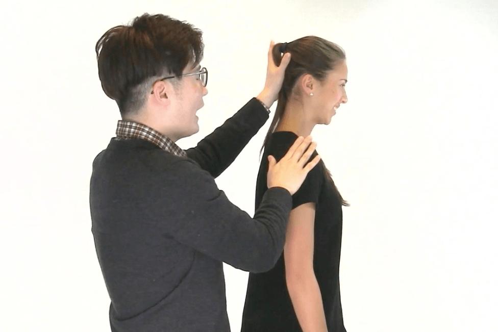 chiropractor exercises - Chin Tuck