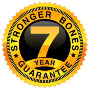 Seven Year Bone Guarantee seal