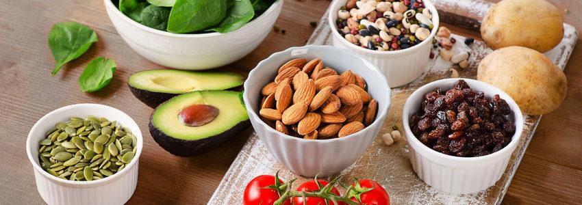 Foods that contain potassium