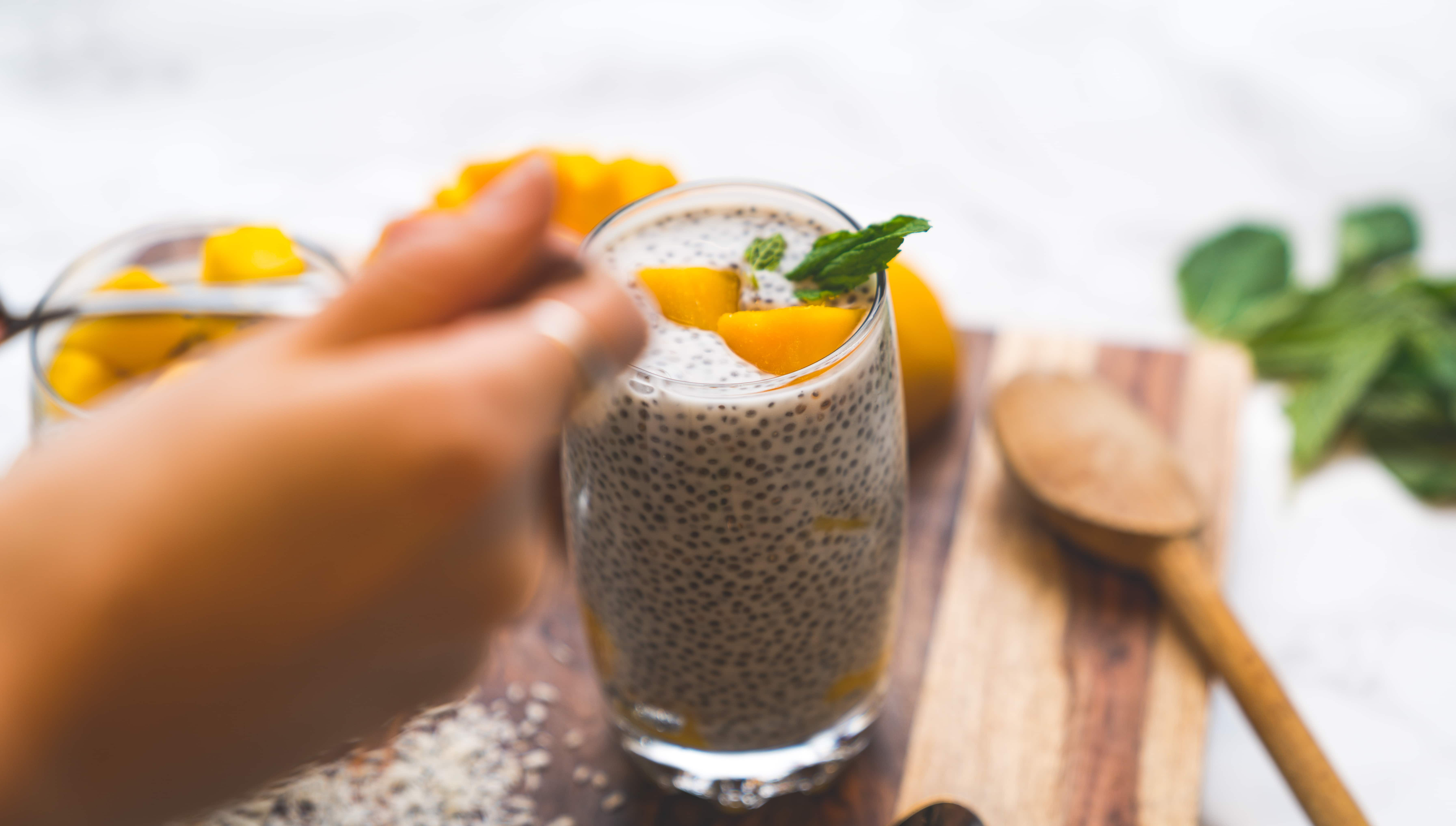 chia seeds - foods for strong bones