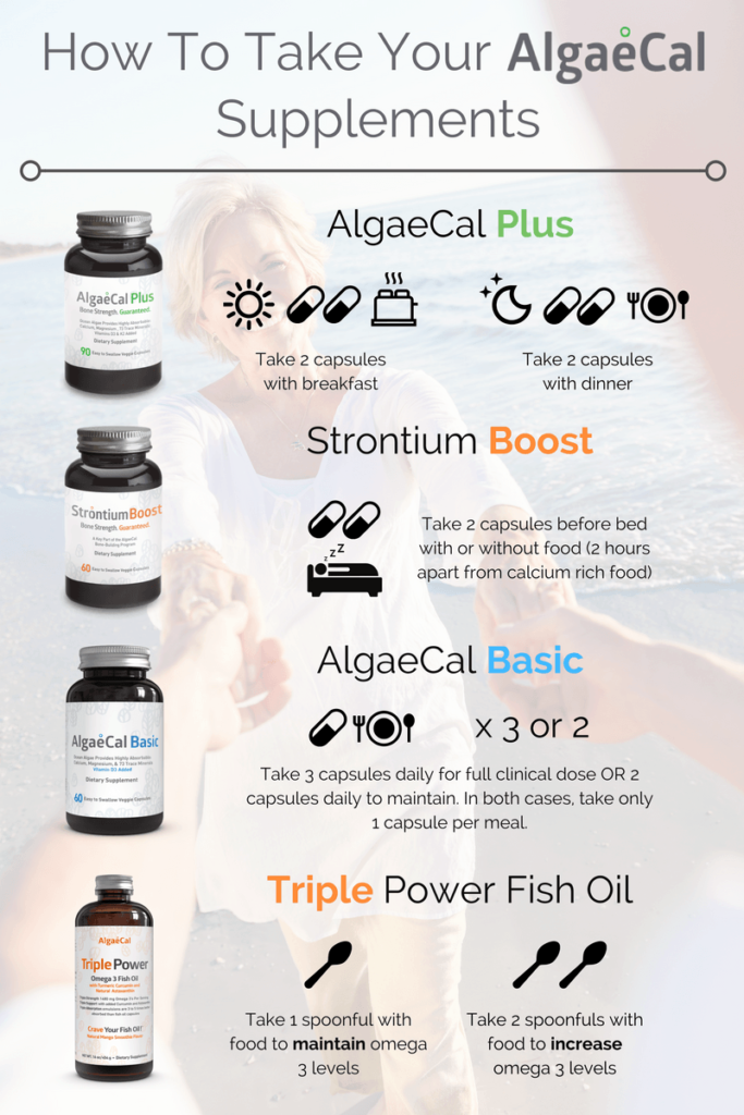 how to take algaecal supplements