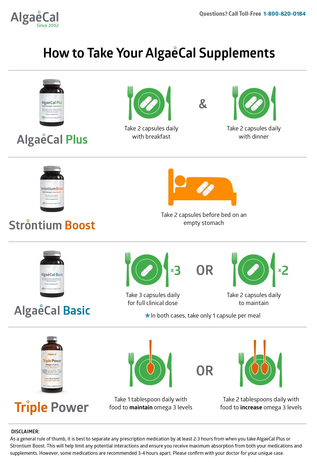 how to take your algaecal supplements printable pdf