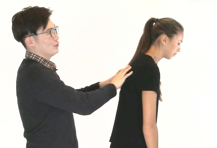 chiropractor exercises - Hunched Back