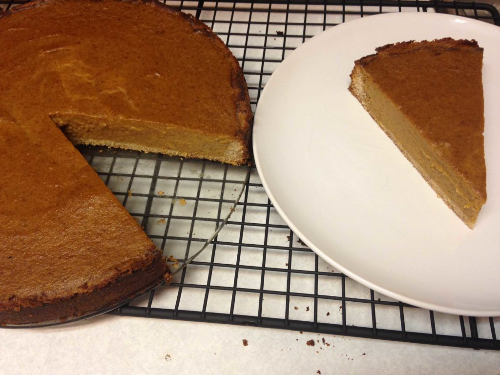 Thanksgiving Pumpkin Pie Recipe