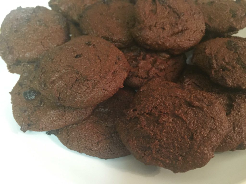 Leo's vegan chocolate almond meal cookies gluten free recipe