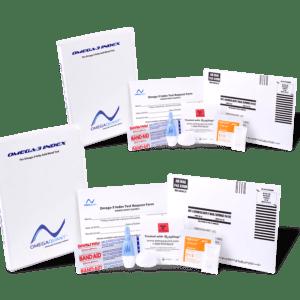 Omega Test Kit 2 Pack Vertical