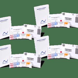 Omega Test Kit 4 pack