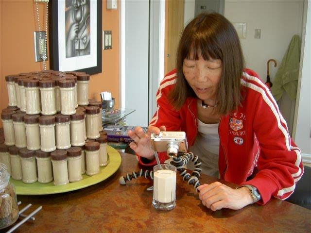 Jeanne testing algaecal calcium powder
