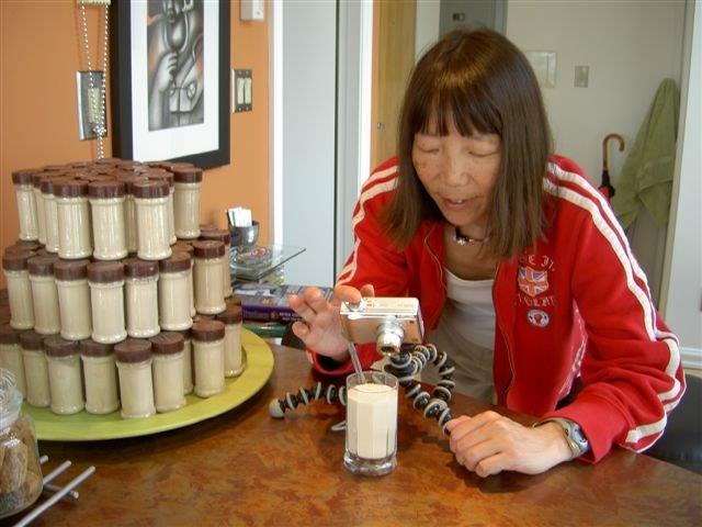 Jeanne testing algaecal calcium powder