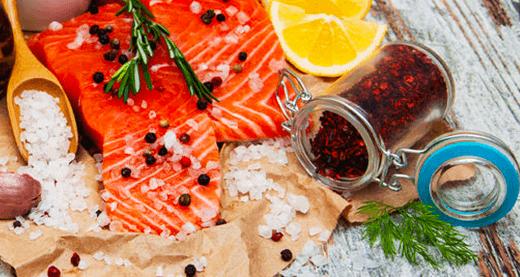 osteopenia diet - salmon