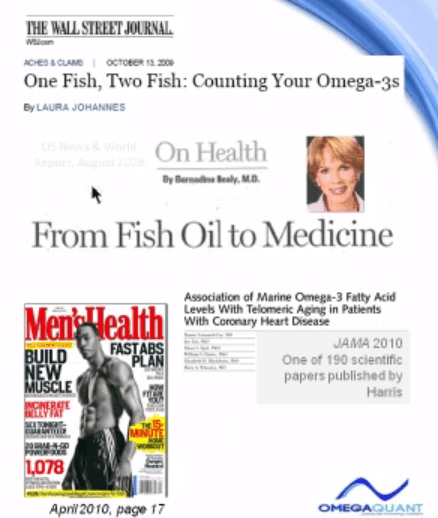 Measuring Omega 3 Levels and The Media