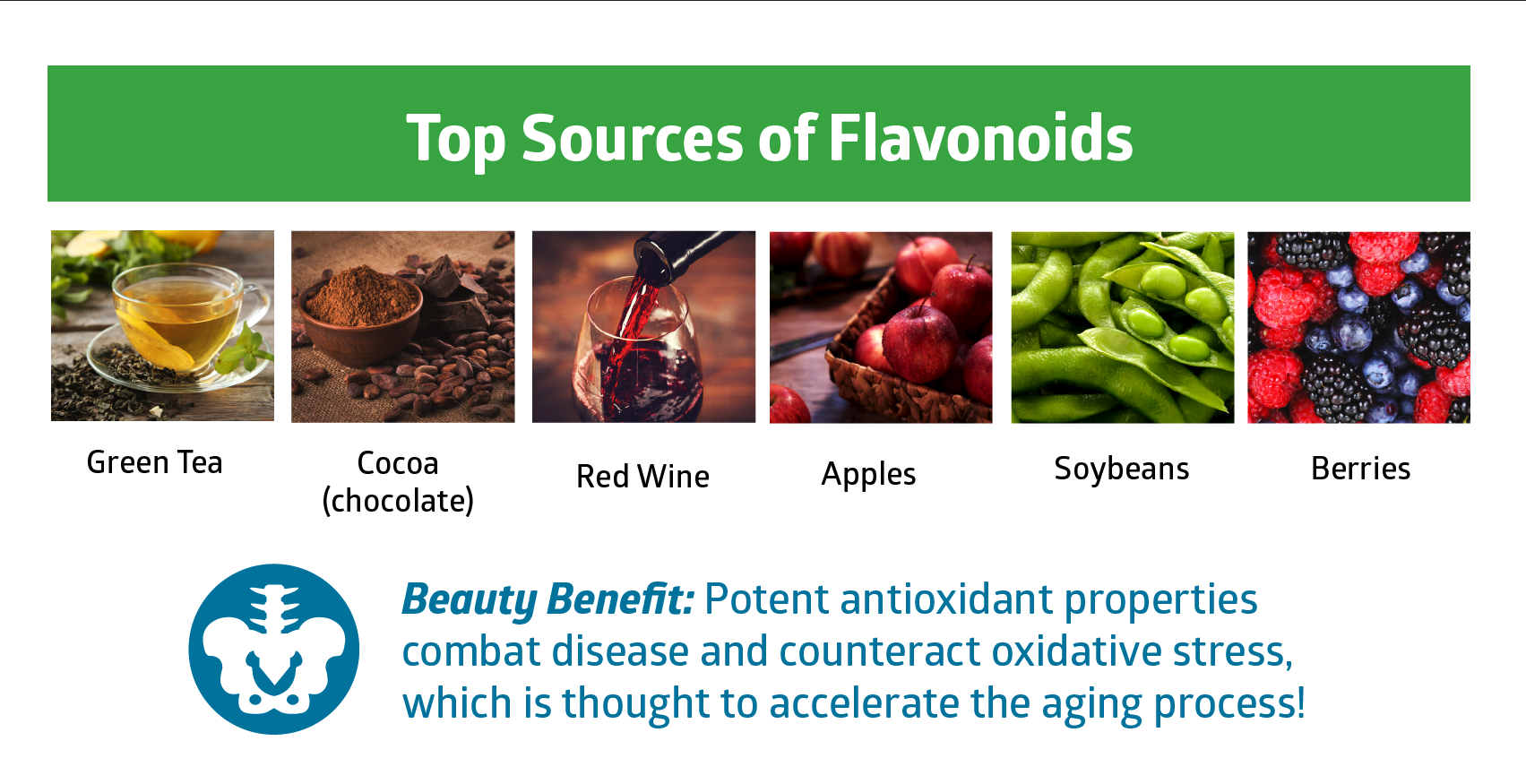 flavonoids - beauty vitamins and minerals