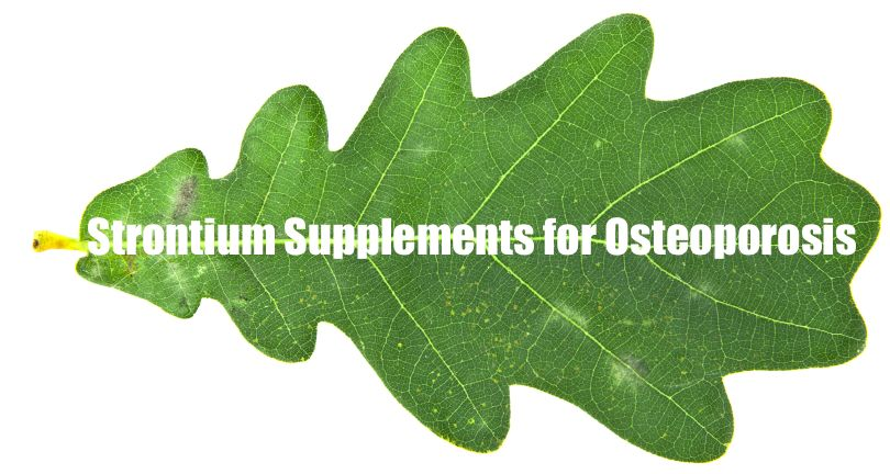 Strontium Supplements And Strontium Side Effects