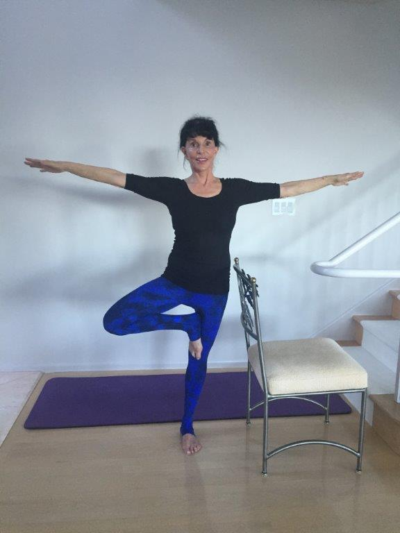 Yoga for Osteoporosis - Triangle 2