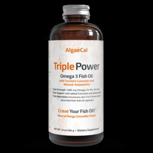Triple Power Omega 3 Fish Oil Algaecal