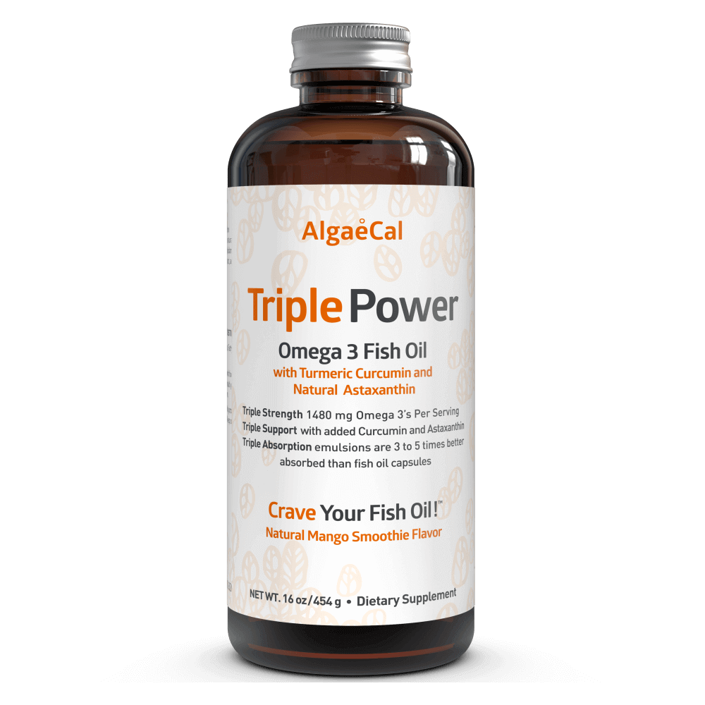 Triple Power Fish Oil (transparent background)