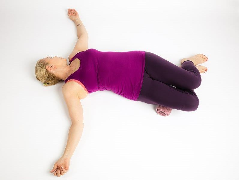 Bent-Knee Twist Pose