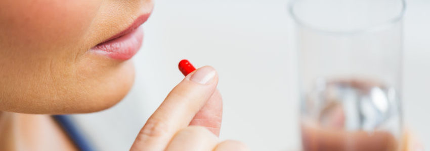 Women taking oral drugs which cause osteoporosis