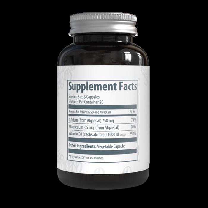 AlgaeCal Basic Supplement Facts
